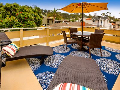 Photo for 20% OFF APR - Private Balcony, Great Location, Walk to Beach