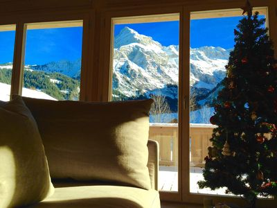 Photo for *Cosy Scenic Ski Chalet near Gstaad & Glacier 3000 - Stunning Mountain Views*
