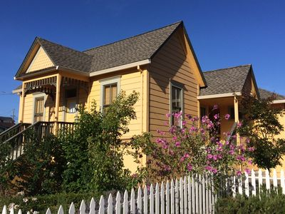 Photo for Victorian Country House in Historic West Marin Village Near Sonoma Coast