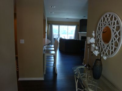 Photo for Beautiful, Lake Front Condo w/loft, featuring 2 king, queen and twin trundle bed