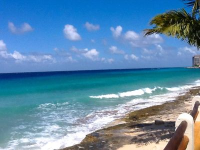 Photo for Beachfront 3BR, Great view, Heated Pool, Wifi
