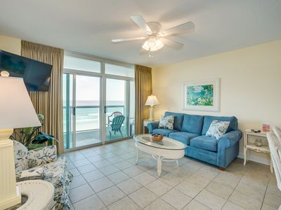 Photo for Splendid oceanfront retreat in a family friendly area - lots of amenities
