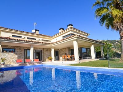 Photo for Club Villamar - A delightful fully detached villa with luxurious pool, terraces, barbecue, balcon...