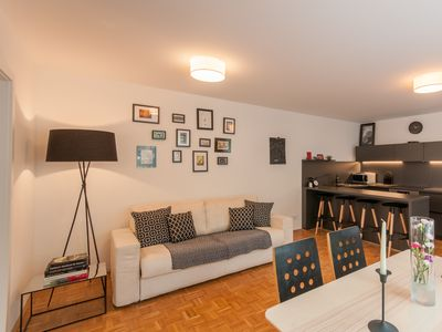 Photo for Design 2-bedroom apartment in the center of Zell am See