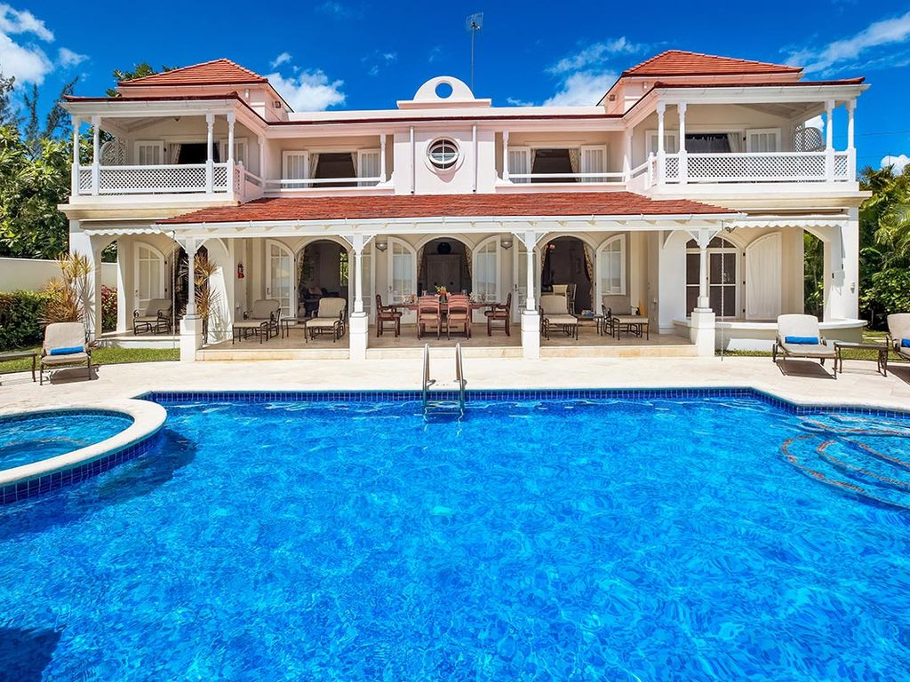 On The Beach Elegant Fosters House With Pool Jetted Tub Gym Staff Reeds Bay Saint James