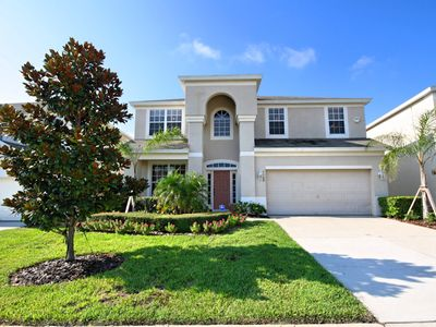 Photo for 6 bedroom Luxury Pool Home @ Windsor Hills 2 miles from Disney