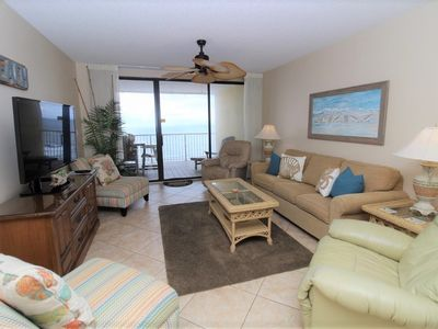 Photo for Summer House 1502B - On Penthouse Level, Beach Front Paradise Awaits!