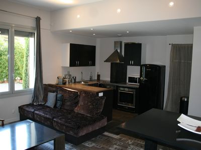 Photo for Small house, Alpilles View, exceptional pool & tennis environment