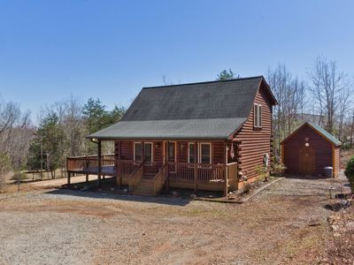 Photo for New Vacation Rental Cabin ~ 5 minutes drive to Tryon Equestrian Center ~