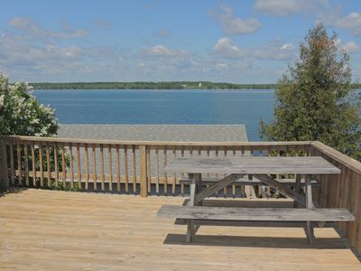 Photo for Cozy Water view 2 Bedroom/1 Bath Cottage