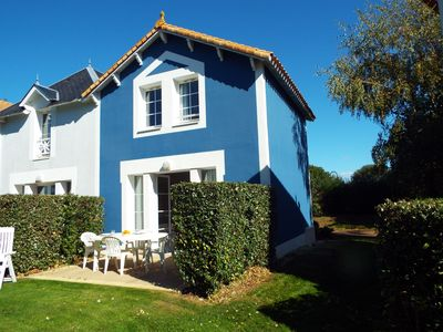Photo for YOUR BLUE HOUSE on the quiet golf course with terrace and south west view