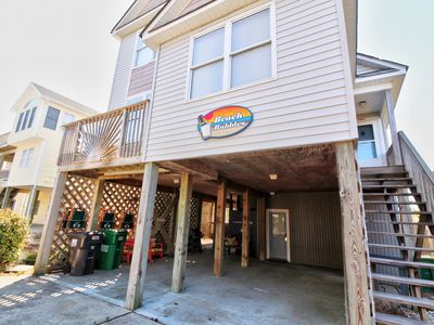 Photo for Beach Bubbles at Ocean Sands of Corolla, Oceanside Home w/ Private Pool, Hot Tub, Volleyball Court & More