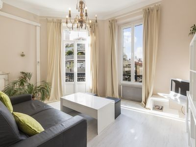 Photo for 1 bedroom apartment - heart of Cannes 450m away from the Croisette