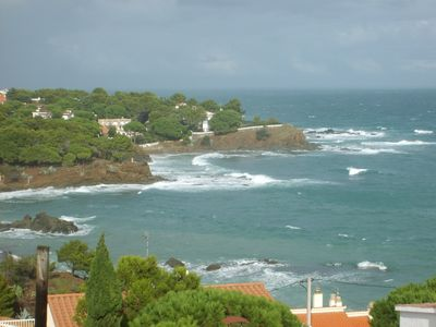 Photo for Very nice apartment, magnificent sea and mountain view, enjoy before season