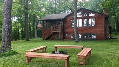 Photo for Gorgeous Lake Cabin in Wisconsin's North Woods