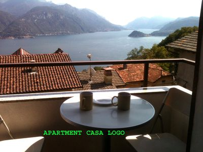 Photo for Apartment with nice view of Lake Como