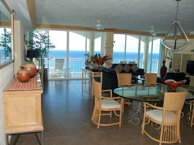 Photo for VILLA ELEGANCIA Stunning Penthouse with Caribbean Sea & Beach Views at El Cantil