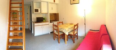 Photo for APARTMENT AT THE FOOT OF THE SLOPES Sancy