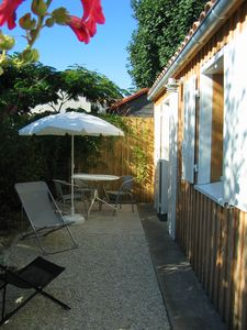 Photo for Comfortable cottage in a quiet area 6 km from the city center of La Rochelle