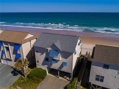 Photo for SAND SATIONAL: 4 BR / 3 BA oceanfront in Surf City, Sleeps 8