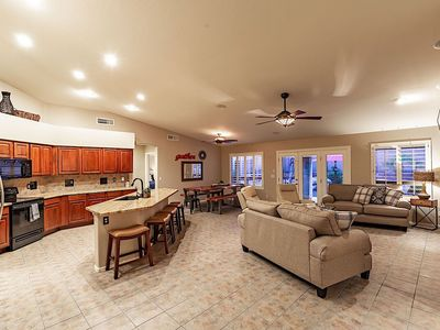 Photo for *SANITIZED* WEEKLY SPECIAL Estrella Grand 4 BR Ranch/ PVT Pool/ Backyard Oasis/ Goodyear