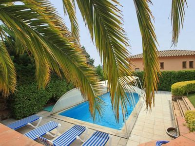 Photo for Club Villamar - Beautiful villa with a half covered private pool and nice garden