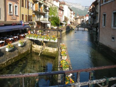Photo for Renovated apartment in the heart of the old town of Annecy