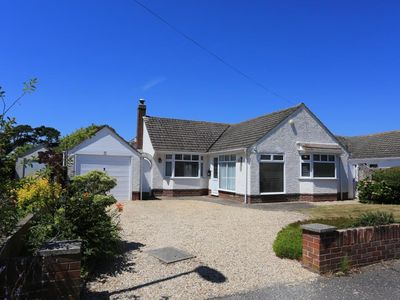 Photo for BOURNECOAST: Bungalow just yards from the beachfront at Friars Cliff - HB4400