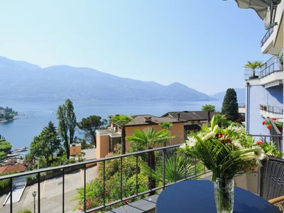 Photo for Apartment Double Room Modern in Ascona - 2 persons, 1 bedrooms