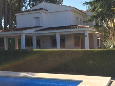 Photo for Incredible villa for 11/13 people ideal for families very close to Valencia