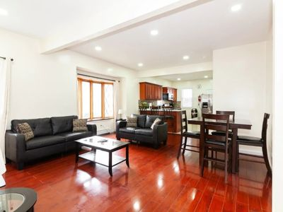 Photo for LUSH QUEENS (4 BEDROOMS/2 BATHS), CLOSE TO ALL, 10 MIN-JFK/LGA, 35 MIN-MANHATTAN