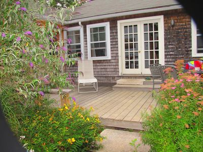 Photo for * WALK TO BEACH & TOWN,EVERYTHING!* PETS OK!* Deck & Patio Area