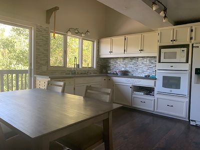 Photo for REMODELED 2 STORY.  GREAT LOCATION.  RIGHT ACROSS FROM SKI LODGE AND LIFTS.