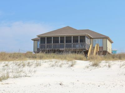 Photo for Turtle's Nest - 3 Bed / 2 Bath Gulf Front Home in Cape San Blas