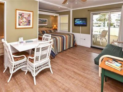 Photo for Sea Rocket 15 N Redington Beach NEWLY Decorated Second Floor Efficiency King Bed Free WIFI & Parking