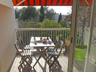Photo for Apartment in Saint-Raphaël with Parking, Internet, Washing machine, Terrace (142833)