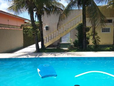 Photo for Up to 4 persons, private pool, Wi Fi, Car rental