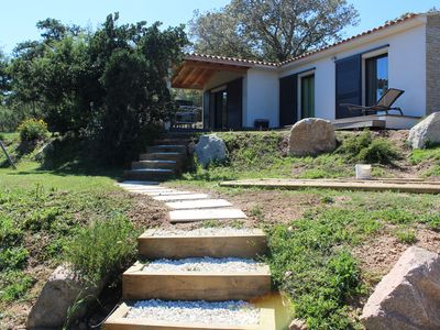 Photo for Villa 4 stars sea view Gulf of Santa Giulia