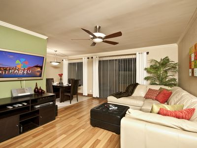 Photo for Beautiful 2 bedroom condo in Old Town along the Scottsdale Arizona Greenbelt and Continental Golf...