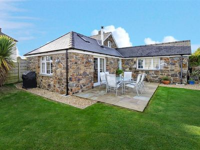 Photo for his very attractive stone cottage offers a bright and spacious interior with a fresh contemporary de