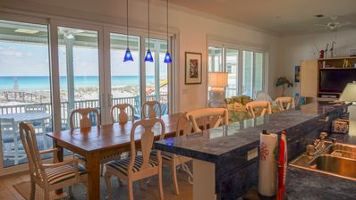 Photo for Incredible views, family friendly Gulf front getaway. Simply stunning!