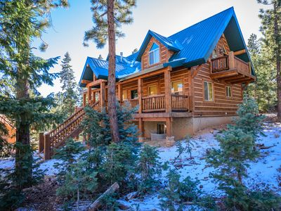 Photo for The Browning Lodge: a Spacious Mountain Cabin Near Zion/Bryce