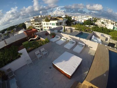 Photo for Superb Penthouse in A Prime Downtown Location on 5th Avenue in Playa del