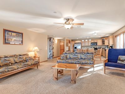 Photo for NEW LISTING! Lakefront condo with shared pool, tennis courts, and on-site golf!