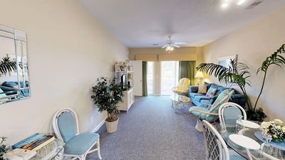 Photo for Wonderful, Relaxing Golf View Condo close to the Beach. Free WiFi & Parking