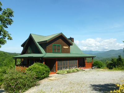 Cabin with Large, Flat Parking Area, Accessed Via Paved Road