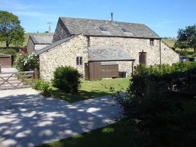 Photo for Beautiful property in Dartmoor National Park with 70 acres of garden and fields