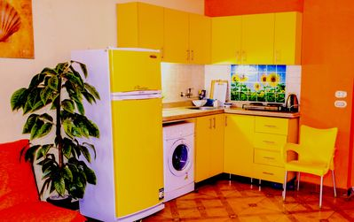 Photo for Natalie House. Yellow, Stylish, bright apartment at the city Center