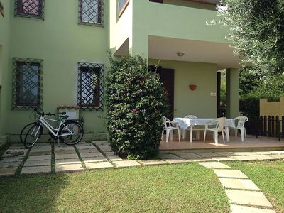 Photo for APARTMENT WITH PRIVATE GARDEN IN COSTA REI 250 METERS FROM THE SEA also on foot