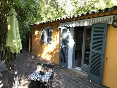 Photo for Maison Bambou: charming house in the heart of lush vegetation